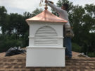 clark nj roof replacement copper cupolas 001