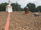 clark nj roof replacement copper cupolas 003